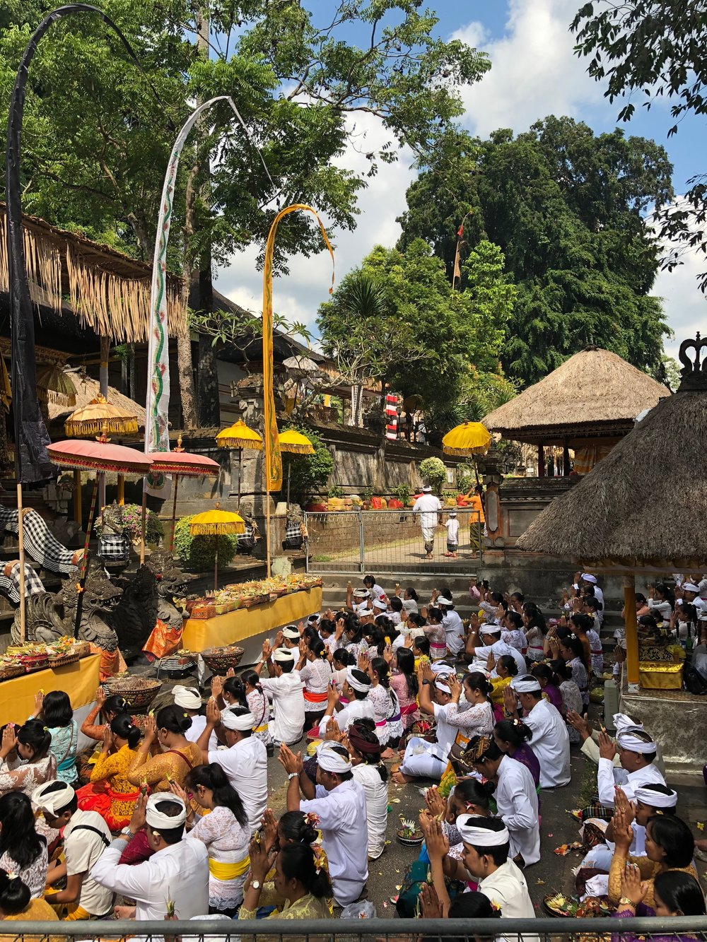 Pura Samuan Tiga is one of the largest Hindu temples in central Bali