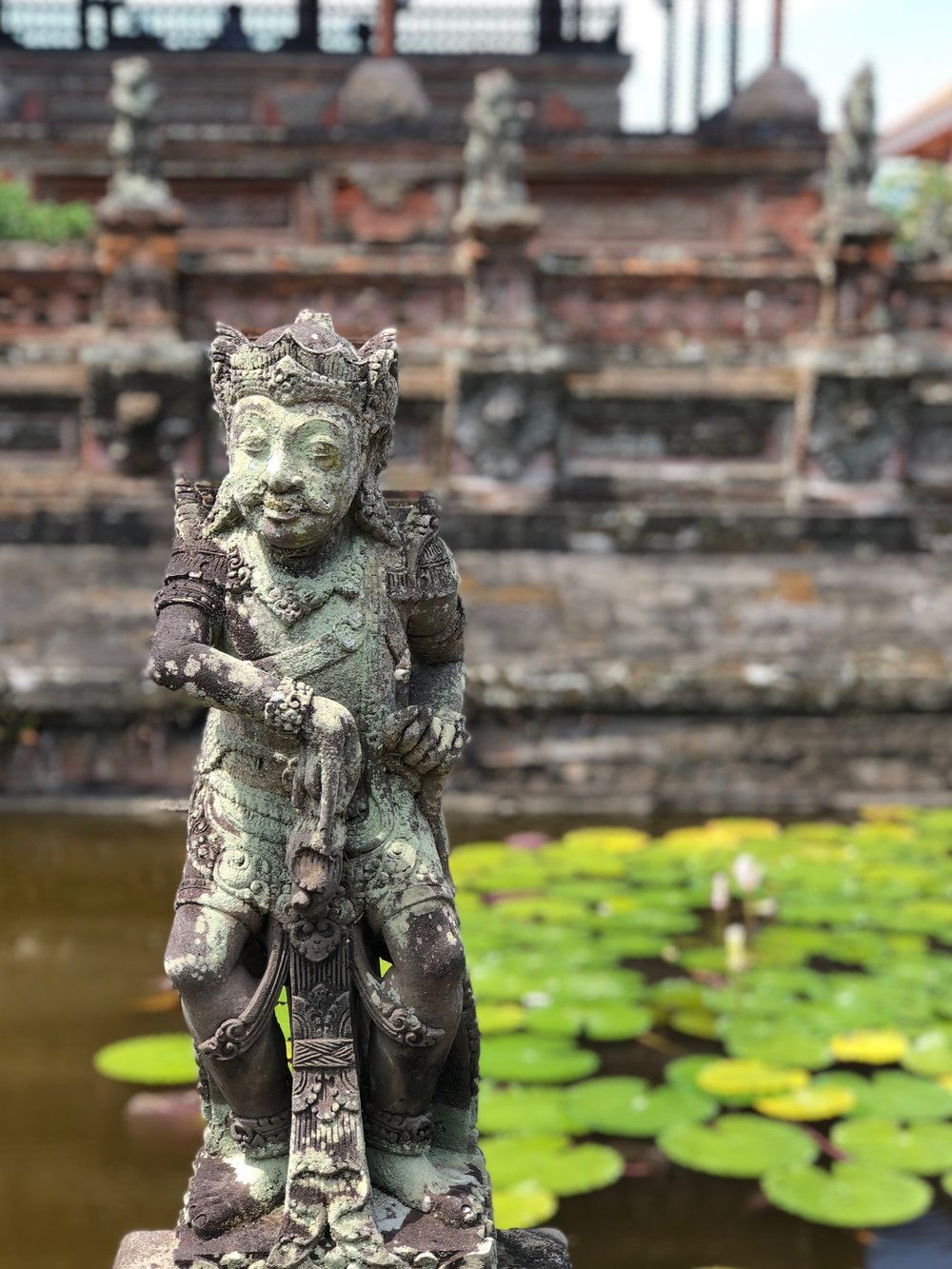One of the guardians of Klungkung. Too bad they couldn't have saved the local kingdom from colonization by the Dutch