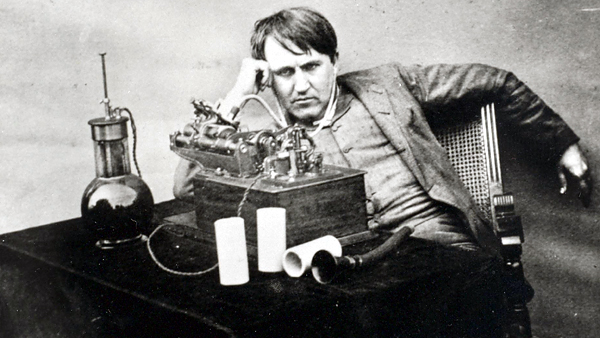 Thomas Edison tried to invent the spirit phone, which would let us speak with the dead