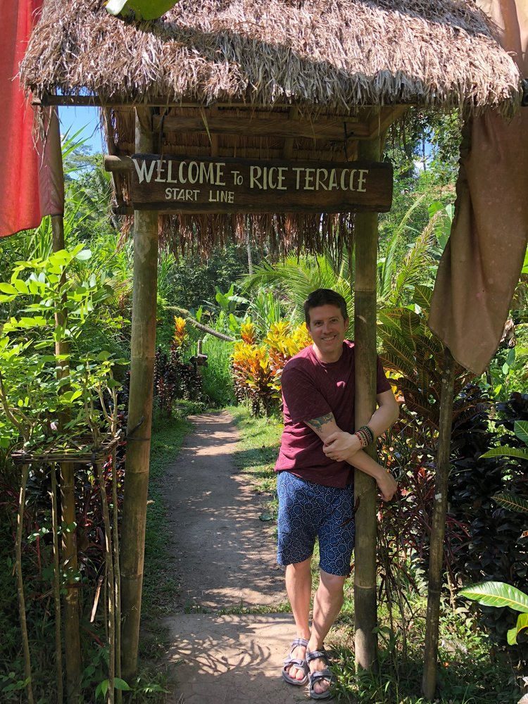 And here I am, 17 years later, back on Bali, this time making a point to visit the gorgeous Tegalalang Rice Terrace