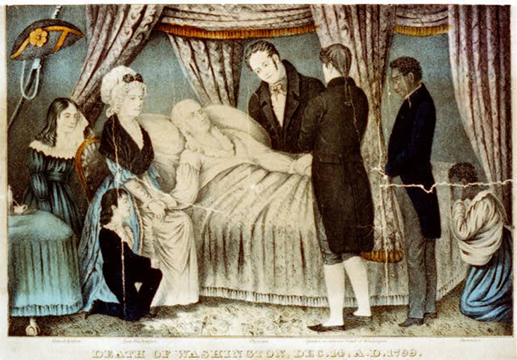 Who'd've thunk a sore throat would lead to the death of the United States' first president?!