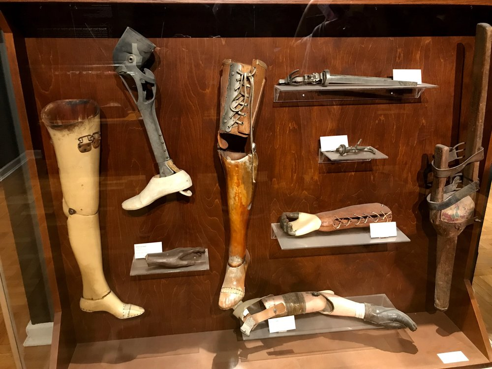 Nice gams! Check out these early artificial limbs from the museum's collection