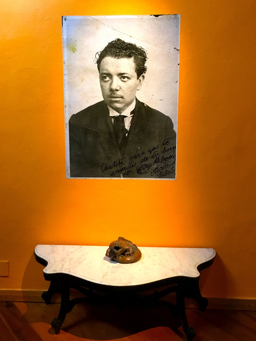 Olmedo amassed the largest private collection of Rivera's works
