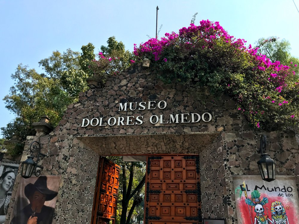 Stop by the Museo Dolores Olmedo after a morning along the Xochimilco canals