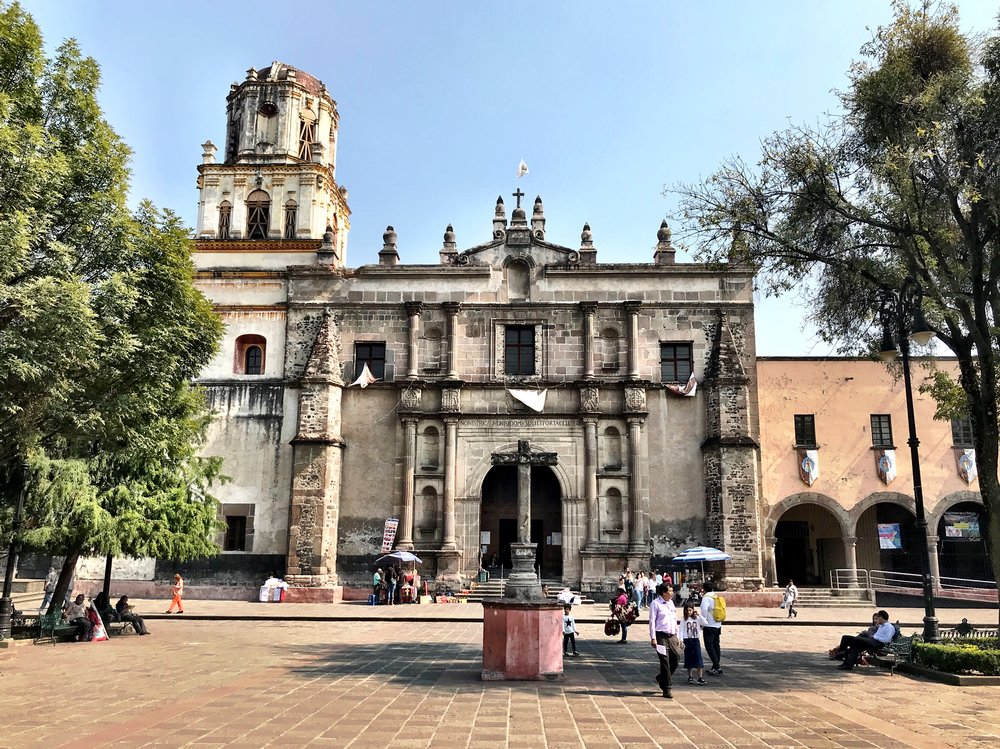 Add la Iglesia de Coyoacán to your itinerary when exploring this boho neighborhood