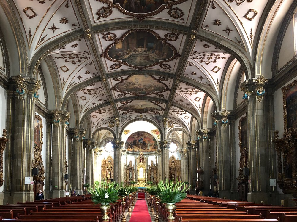 It's certainly worth popping into Coyoacán's main church for a quick wander