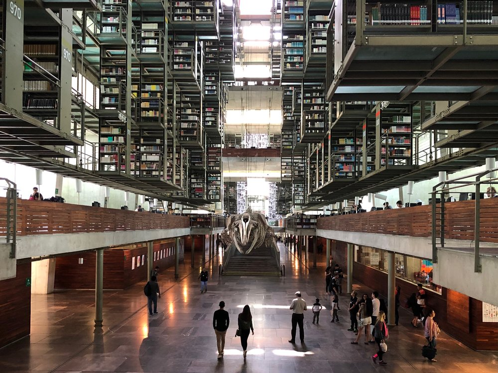 Off-the-beaten-path CDMX: la Biblioteca Vasconcelos