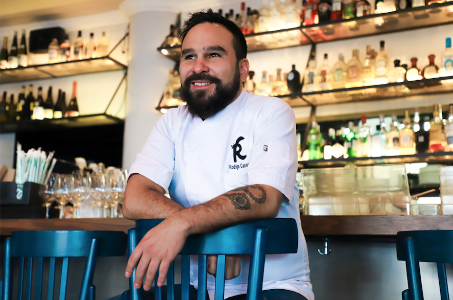 Chef Rodrigo Carrasco at Bowie