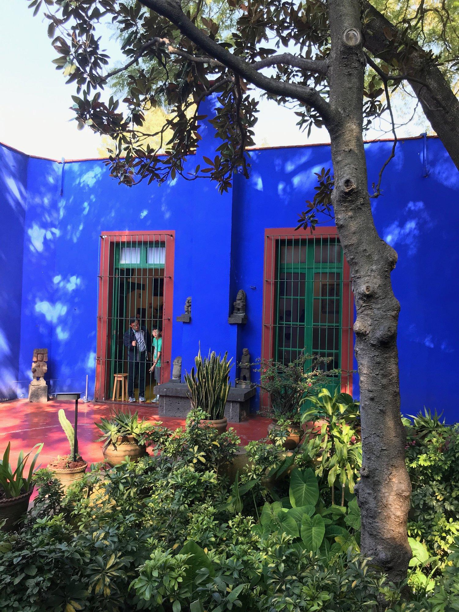 La Casa Azul The Frida Kahlo Museum In Mexico City