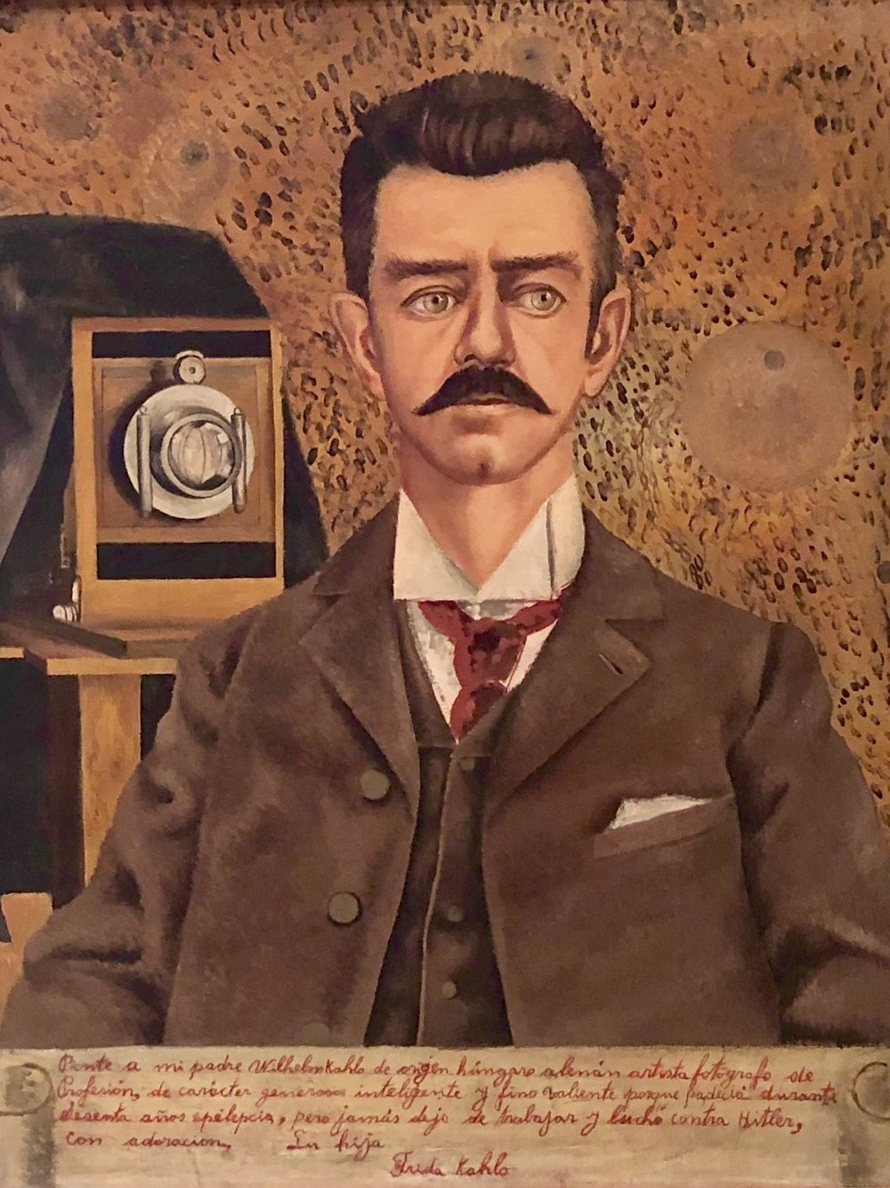 Portrait of My Father  by Frida Kahlo, 1951