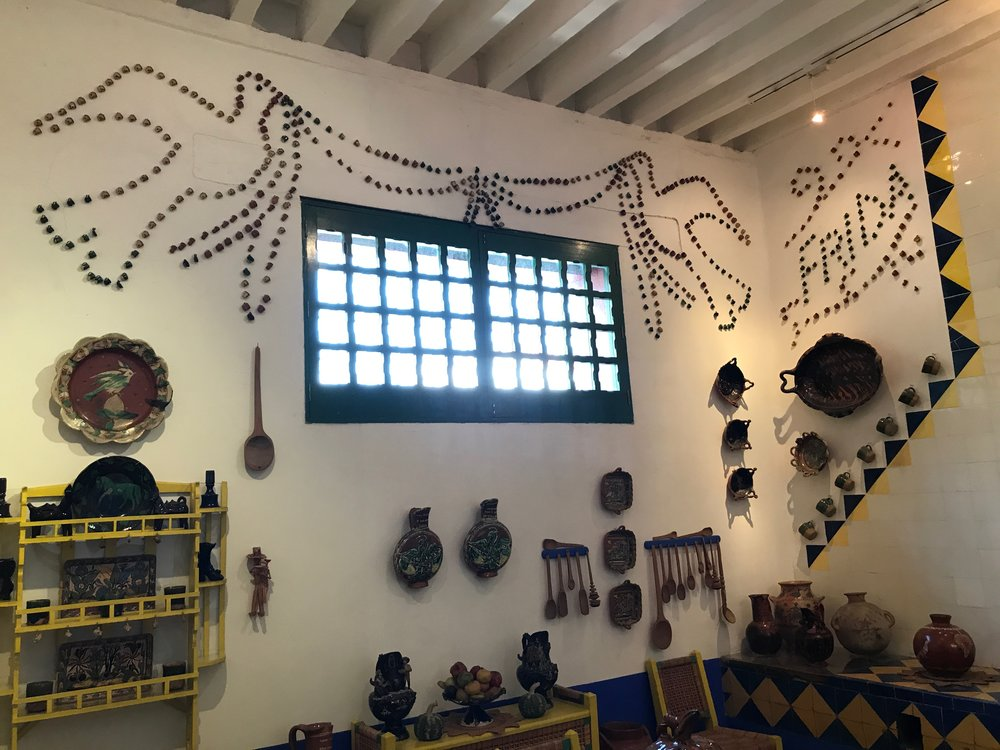 A glimpse into Frida's kitchen