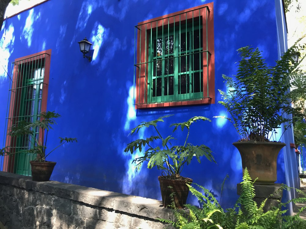 La Casa Azul, the Museo Frida Kahlo
