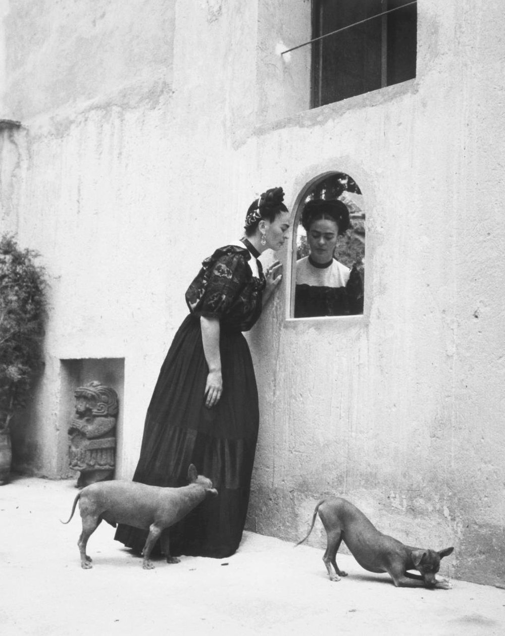 Let's take some time to reflect upon what an amazing woman Frida Kahlo was. Photo by Lola Álvarez Bravo