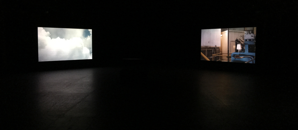Far From Here, 2016, Four channel video installation with four channel sound. (Installation View) Meat Market. Image courtesy of the artist.