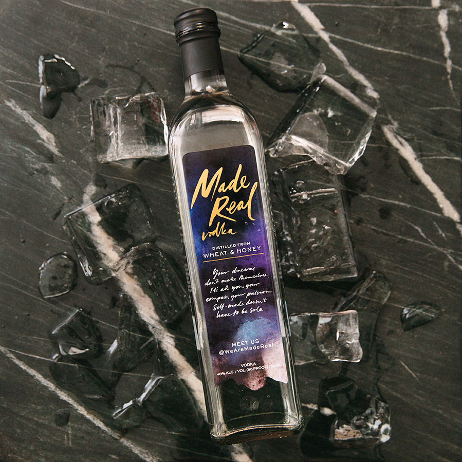 -- Brand development, Made Real Vodka