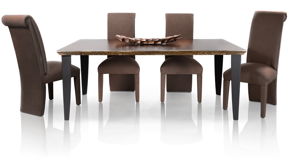 COMBO_Rectangle Dining Set_Luxé Edge_Barracuda_Legs-Tappered-TXT BLK_CH220-01_AR-1.jpg