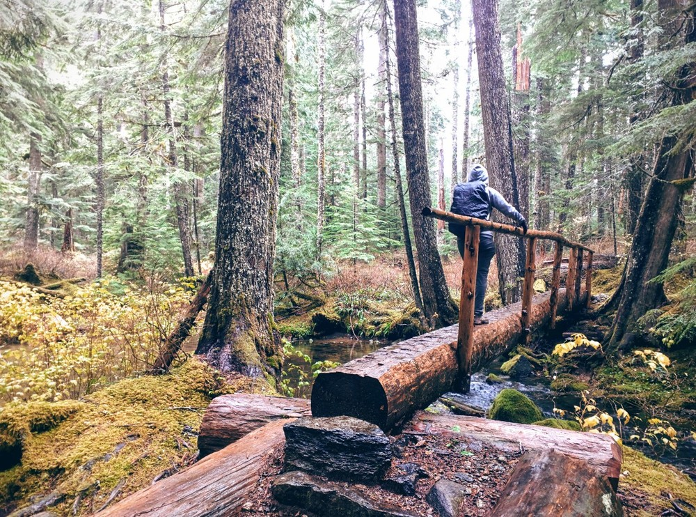 Green Lake Trail in Mt. Rainier National Park