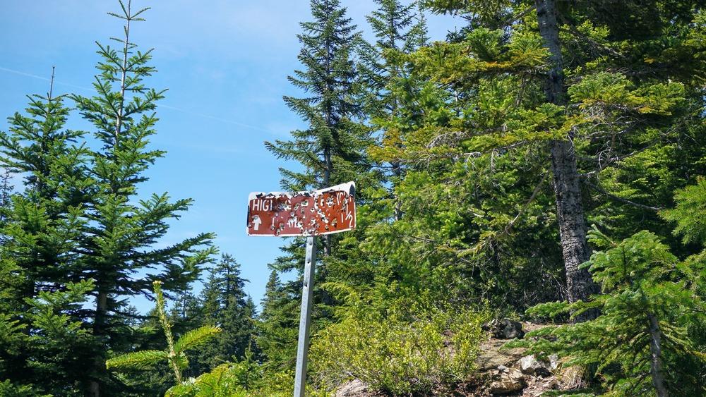 High Rock Lookout Trailhead