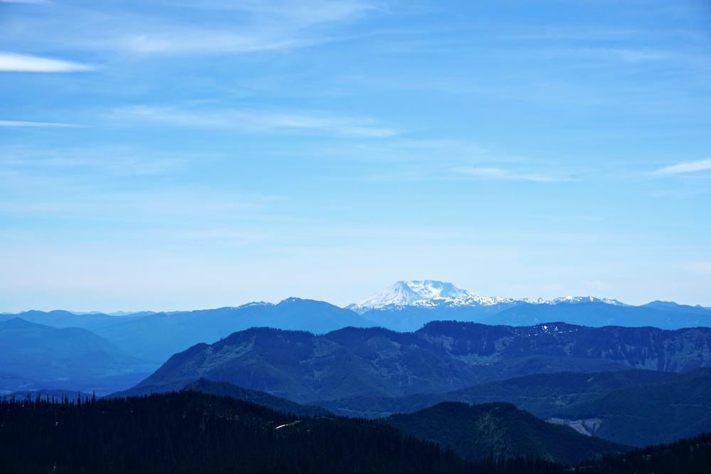 Mount Saint Helens from High Rock