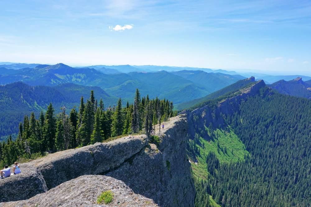 Sawtooth Ridge from High Rock