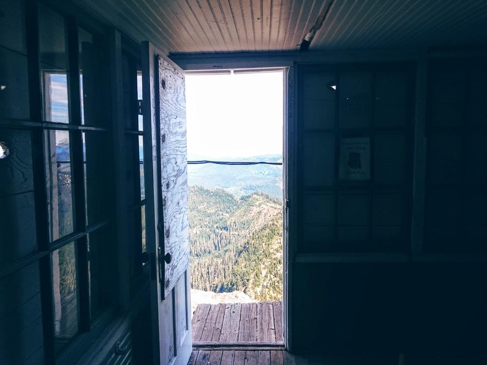 Door of High Rock Lookout