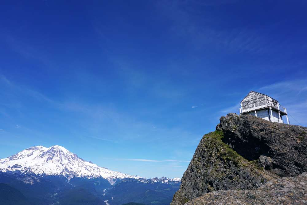 High Rock Lookout and Mount Rainier