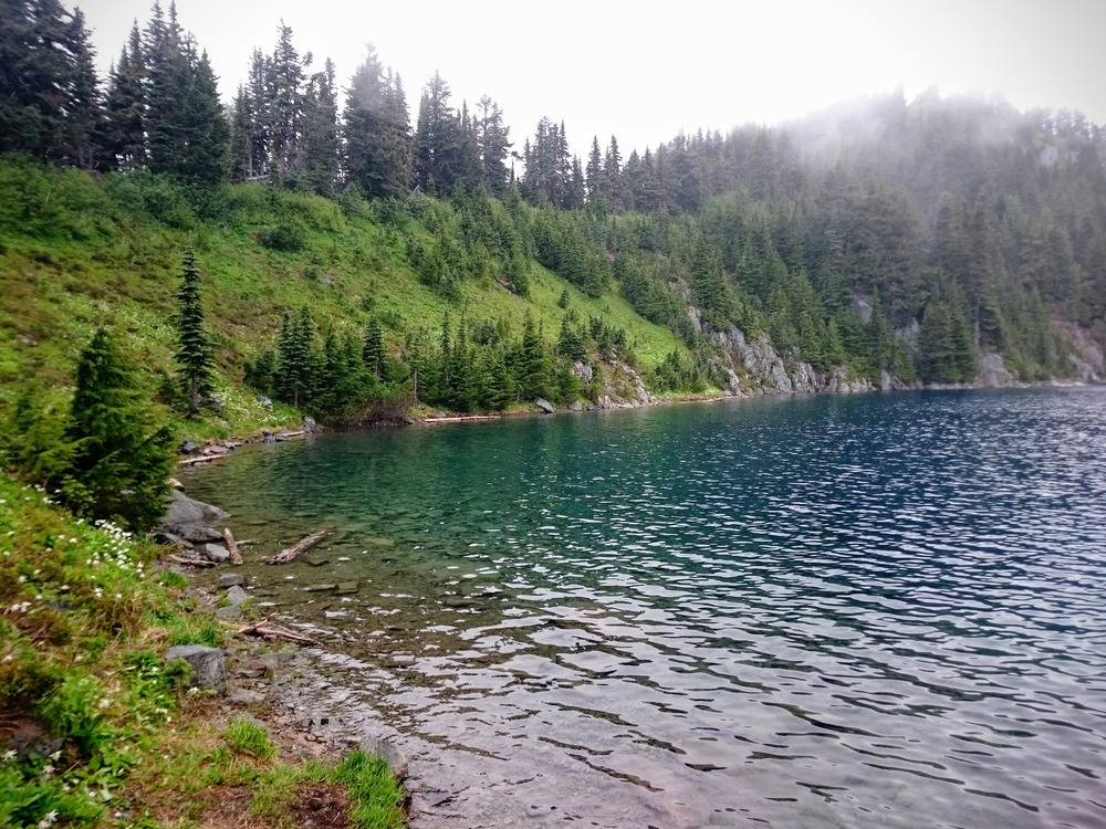 Clear Water of Summit Lake