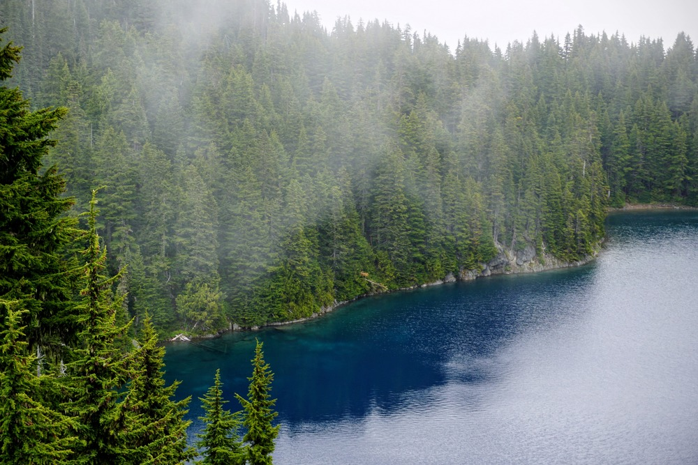 Blue Water of Summit Lake