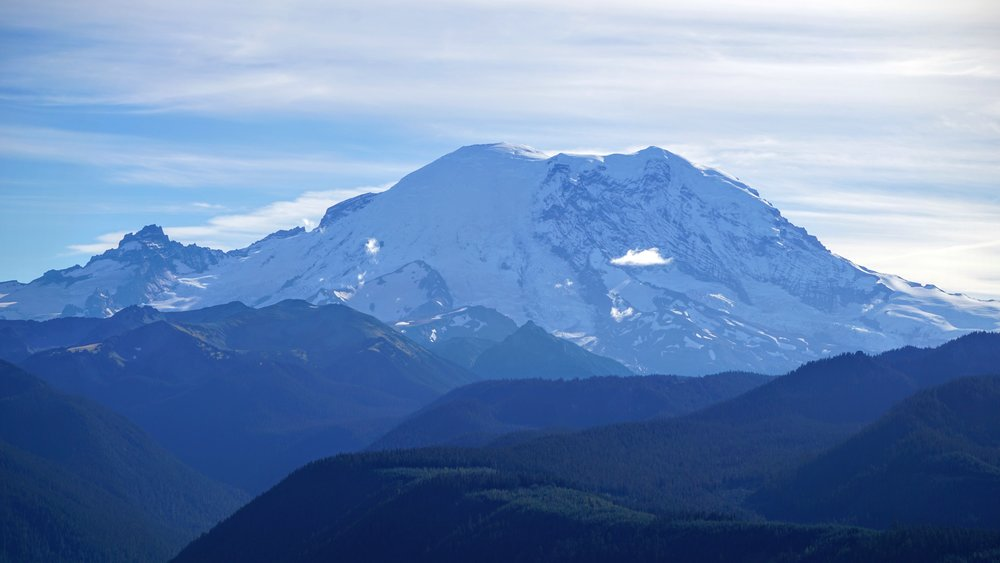 Mount Rainier from Suntop