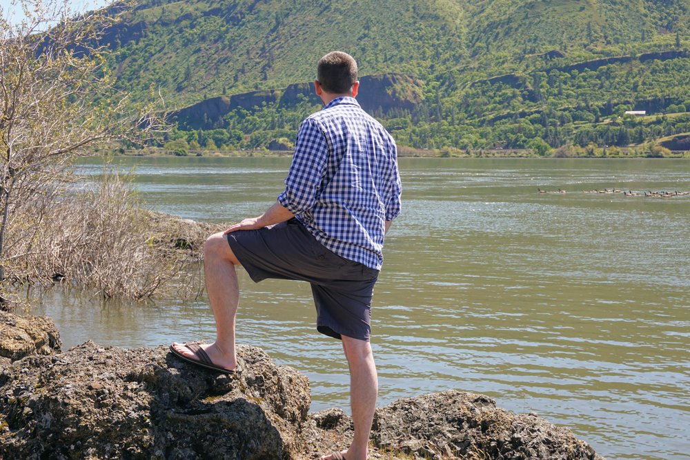 Ecoths Kenzo Short at Columbia River Gorge