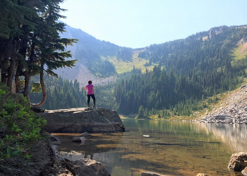 EXPLORING MT. RAINIER: PALISADES LAKES TRAIL