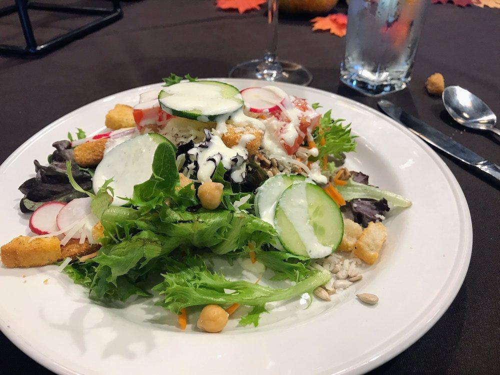 Lunch at Skamania Lodge