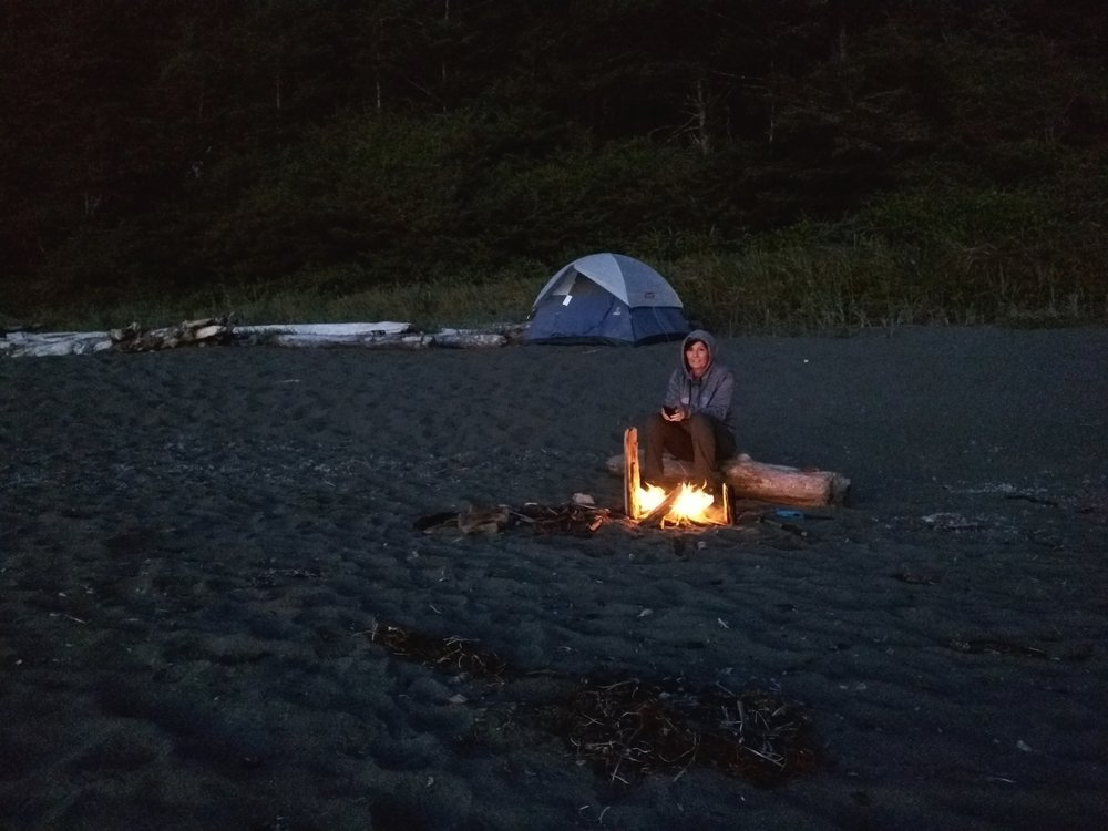 Camping at Shi Shi Beach