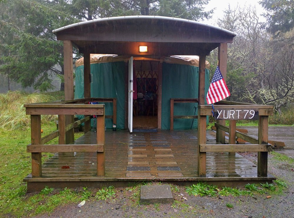 Yurt At Cape Disappointment State Park