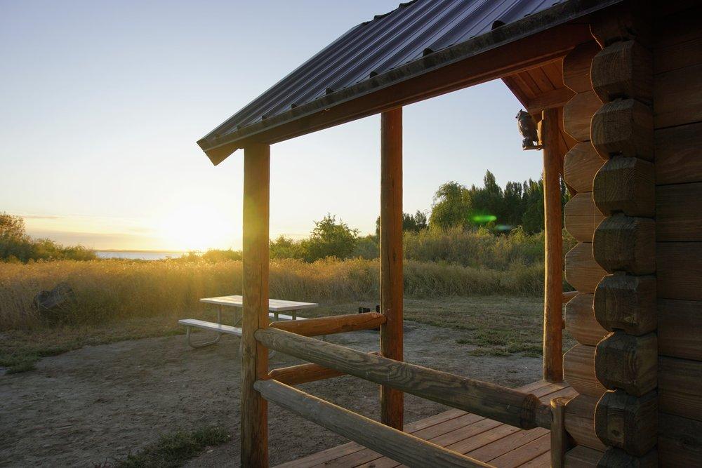 Sunrise at Potholes State Park