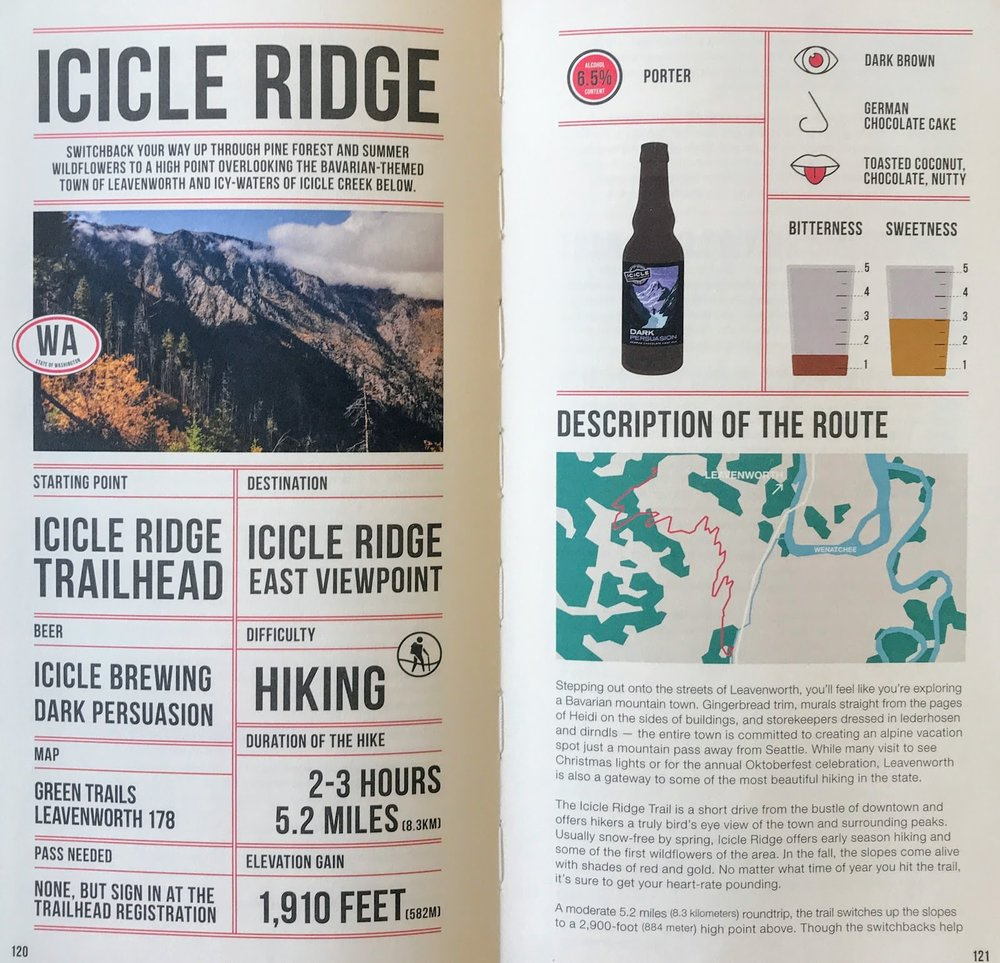 Beer Hiking Pacific Northwest - Icicle Ridge.JPG