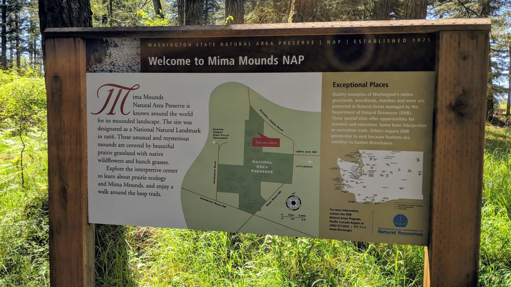 Mima Mounds Natural Area Preserve