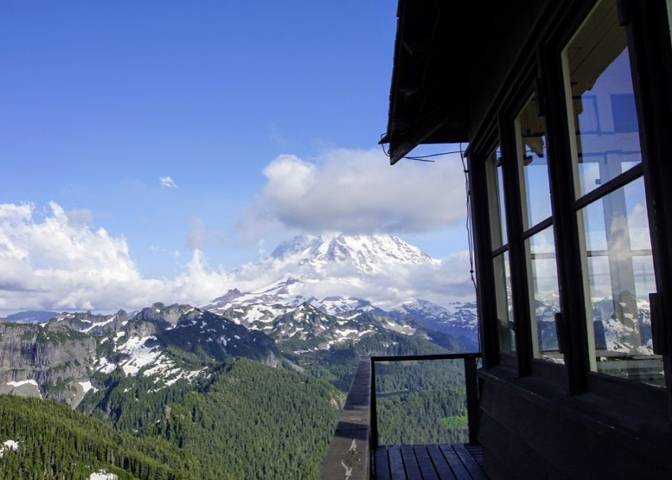 TRAIL REPORT: TOLMIE PEAK FIRE LOOKOUT