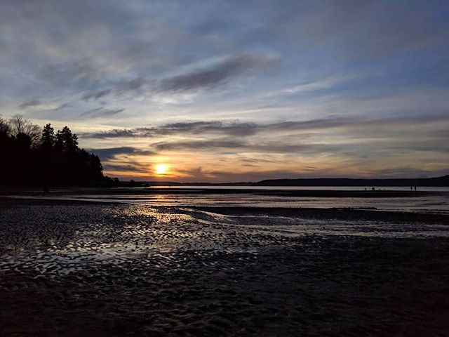 Friday evening sunset from Dash Point State Park. #pnw #sunset #wastateparks #dashpointstatepark