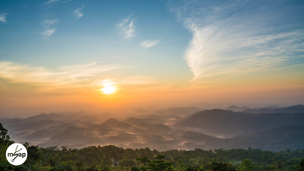 Sunrise in Deniyaya - Pasan Pannila