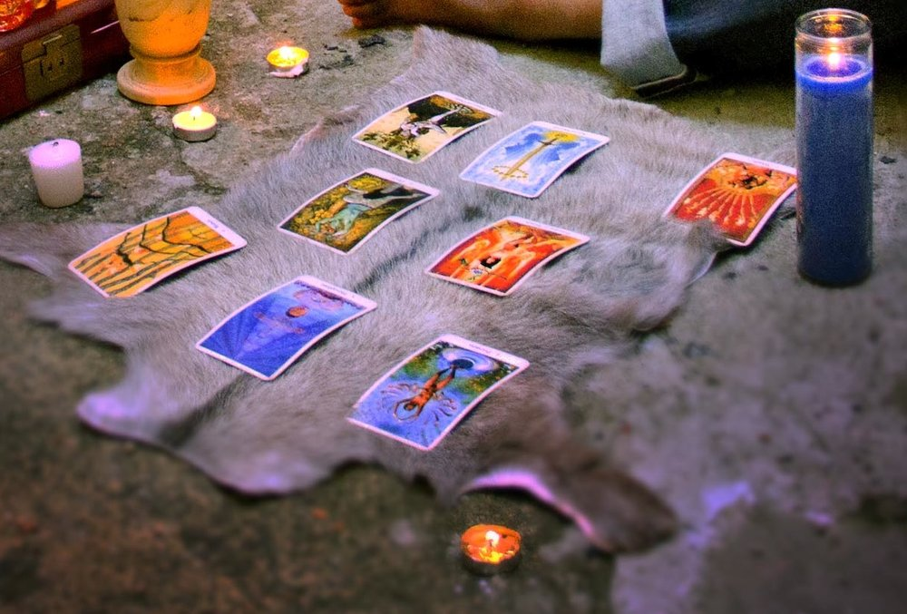 Intuition and discernment in concert with divinatory tools can help reveal patterns within ourselves and our surrounding environments.