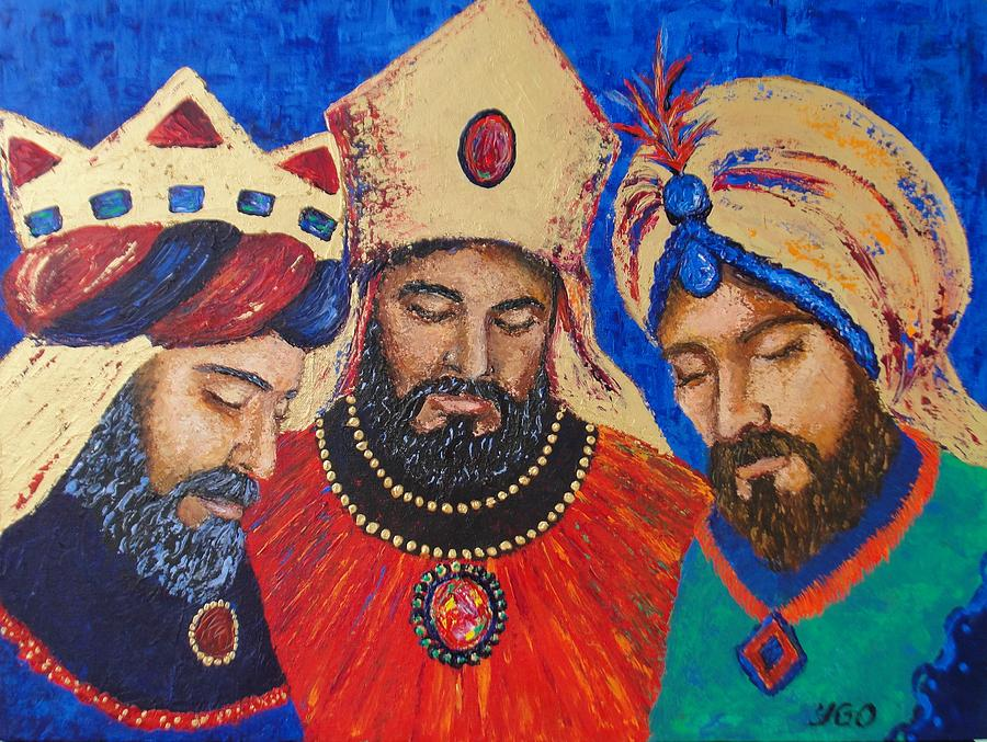 ' My Three Wise Kings ' by Yamelin Gonzalez-Ortiz