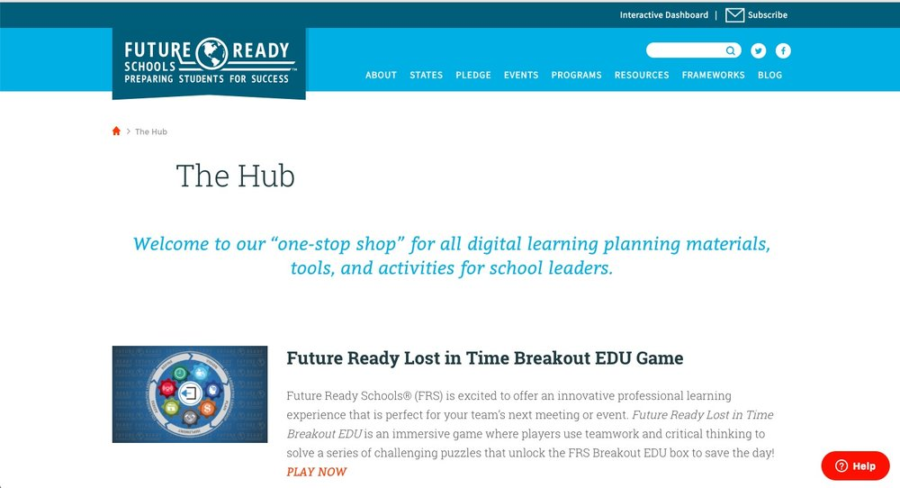 """The Hub"""