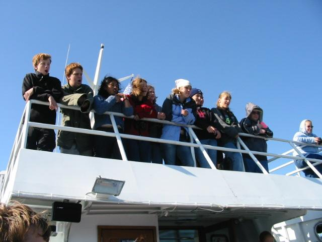 On the Discovery (Marine Discovery Tours)