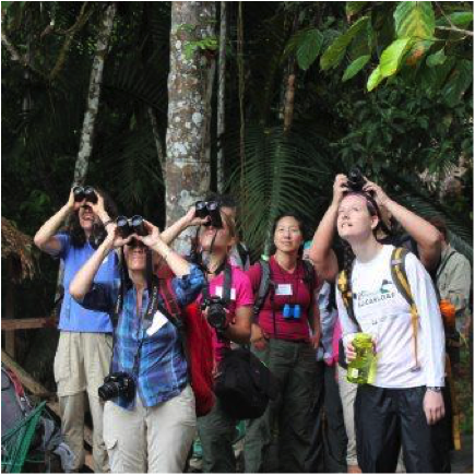 Educators Take Birdseye to the Amazon