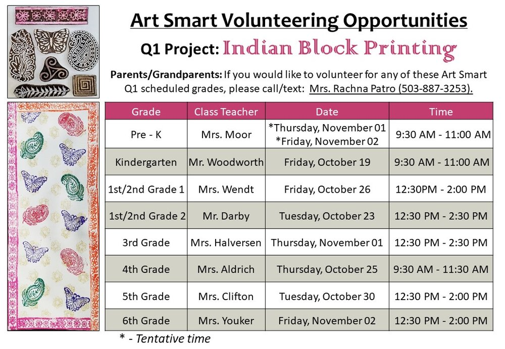 Q1 Indian Block Printing 2018-19 Project ScheduleLandscape (2).jpg