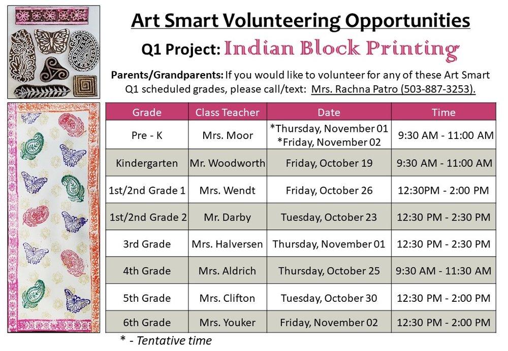 Q1 Indian Block Printing 2018-19 Project ScheduleLandscape (2).jpg