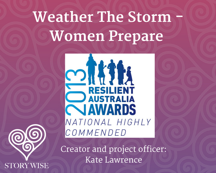Kate Lawrence Resilient Australia Awards