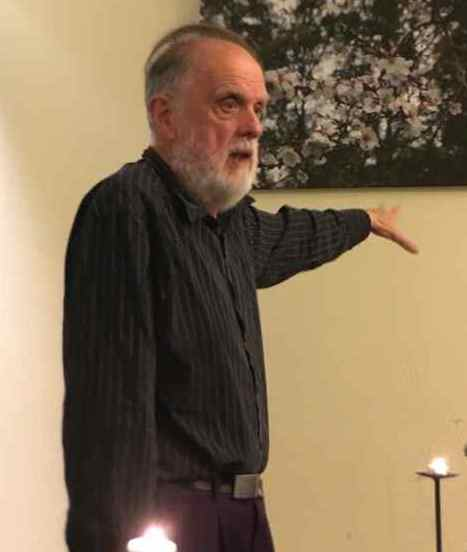 Melvyn Cann storyteller