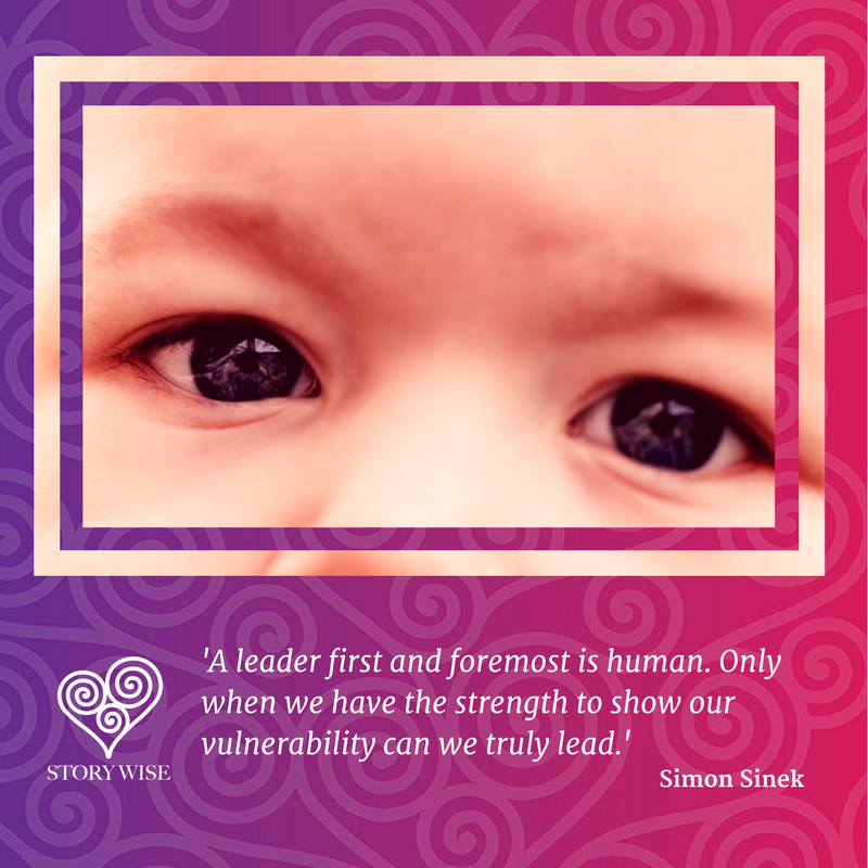A leader first and foremost is human.png